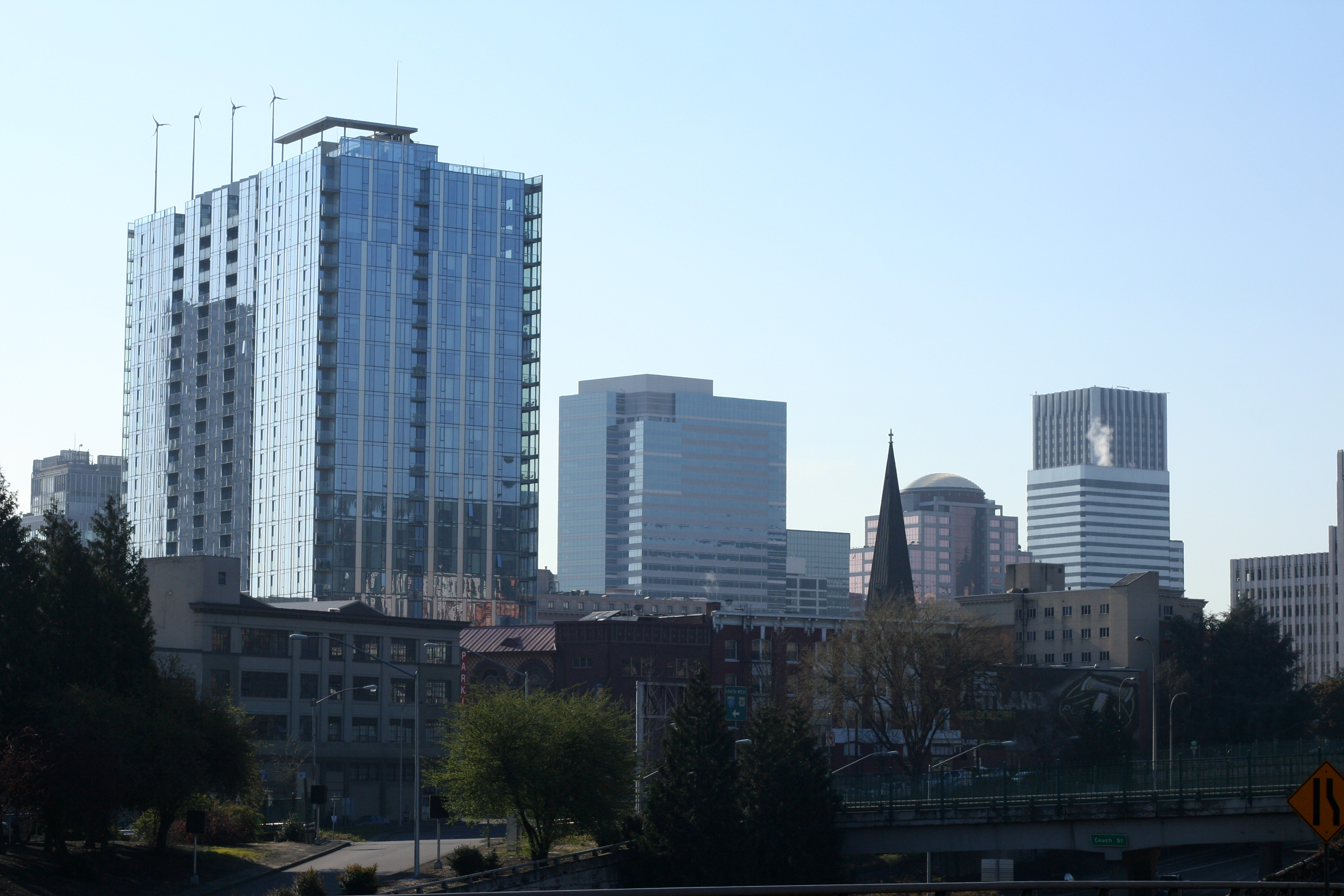 Portland downtown