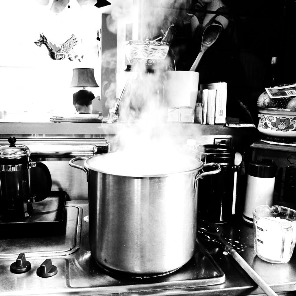 cauldron of steam