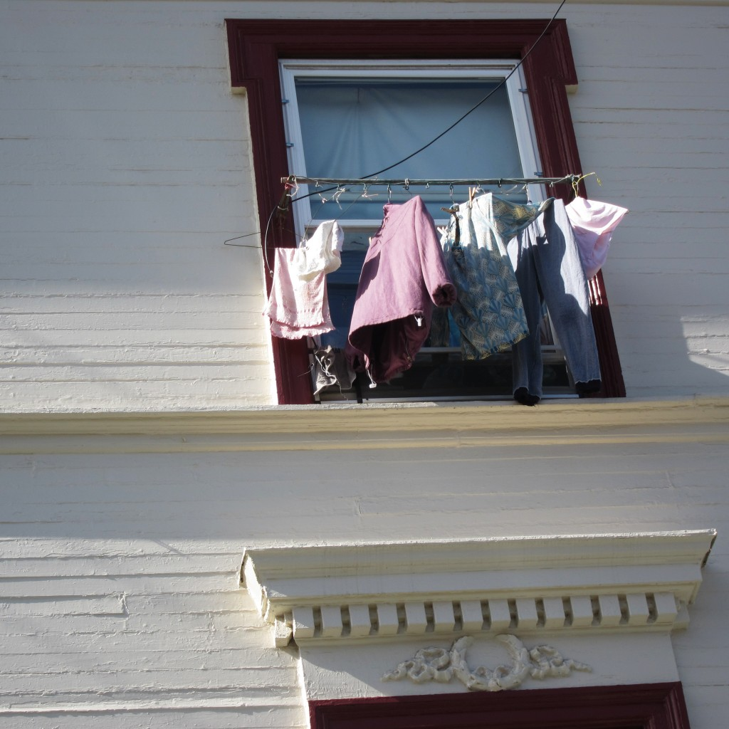 laundry day in sf