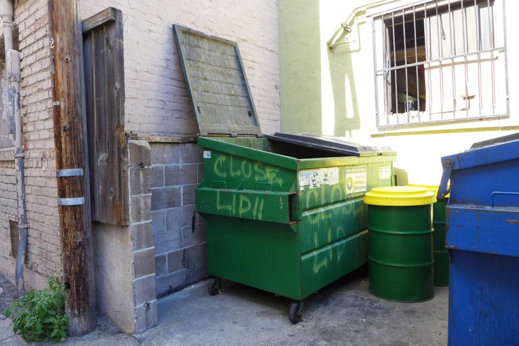 dumpster in Petaluma