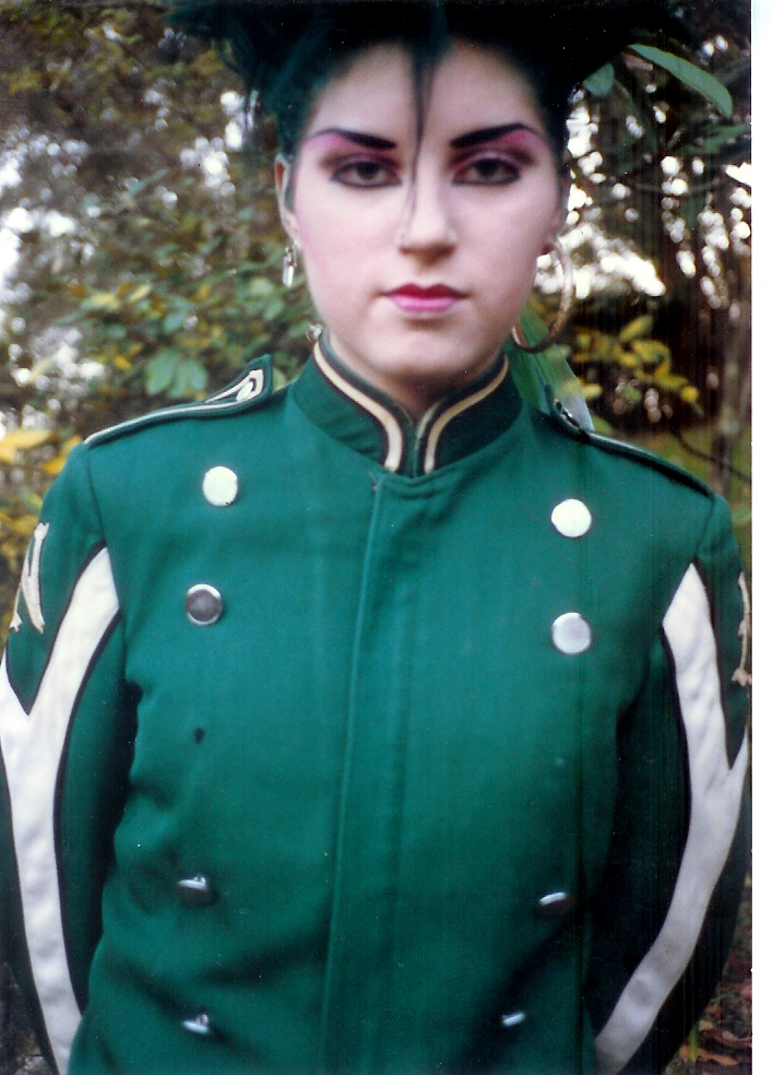 band jacket contrast
