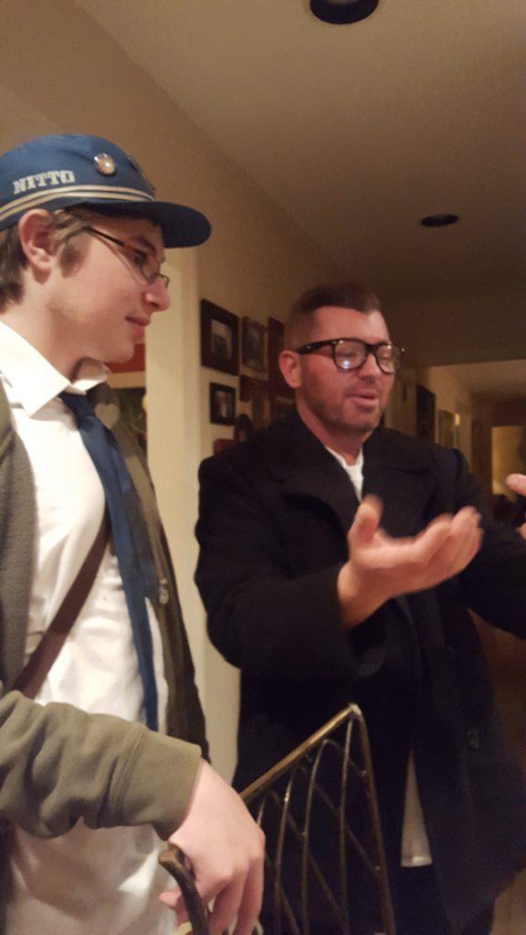 Zeke explaining shit to Max