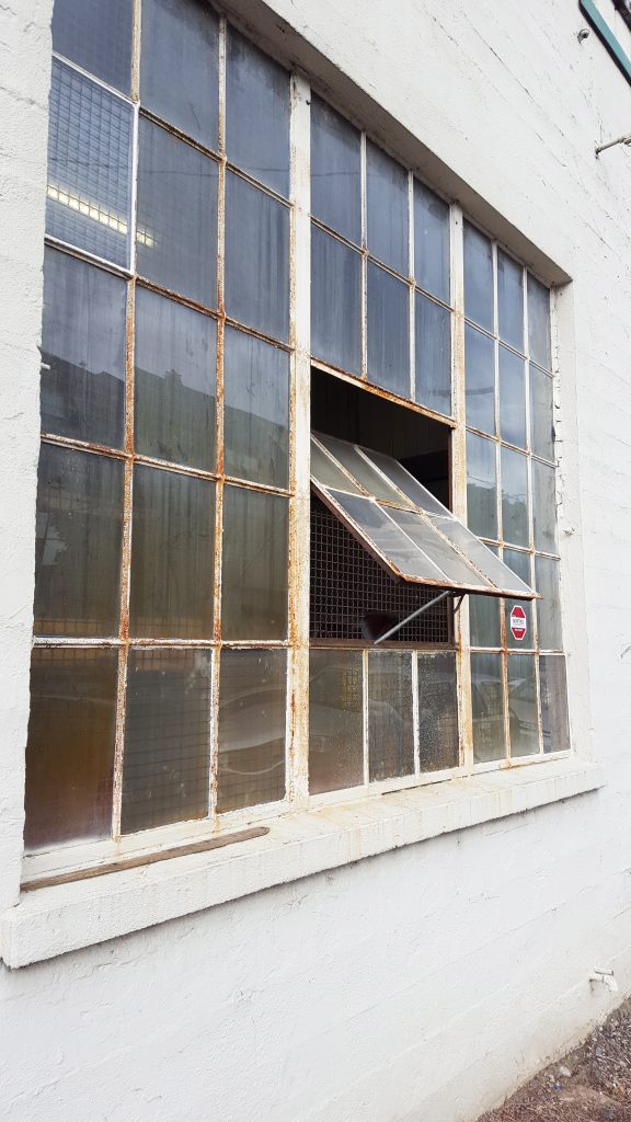 warehouse window