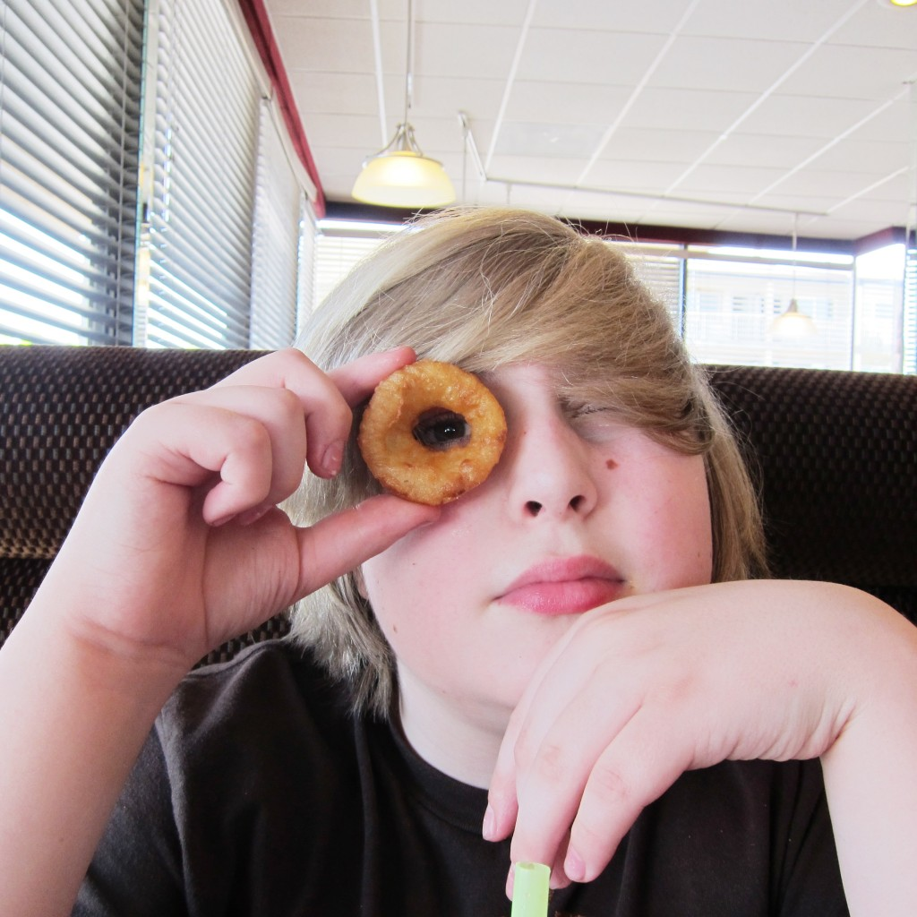 Max with onion ring