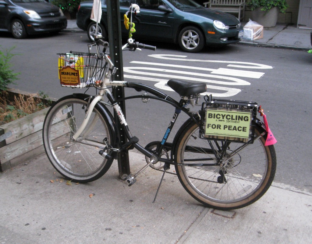bicycling for peace